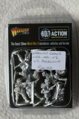 Warlord Games 28mm WGB-AA-02 US Paras Squad